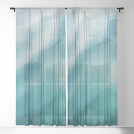 On the Water #decor #buyart #style #society6 Sheer Curtain