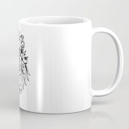 Heraldic Lion Head Coffee Mug