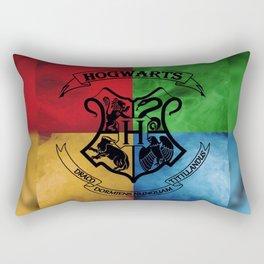 Wizard School House Crest HP Rectangular Pillow
