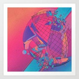 B-TWARKED (everyday 03.12.16) Art Print