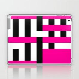 Licorice Bytes, No.18 in Black and Pink Laptop & iPad Skin
