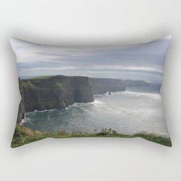 Sun Coming out over Cliffs of Moher Rectangular Pillow