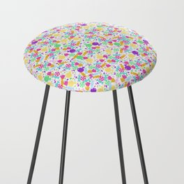 Ditsy Candy Counter Stool