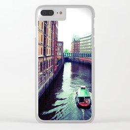 Hamburg or Venice? Clear iPhone Case