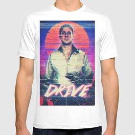 Drive 80s VHS poster T-shirt