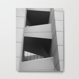 brutalist connection Metal Print