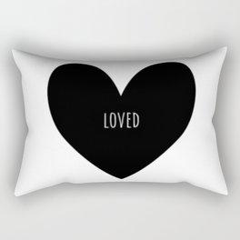 loved Rectangular Pillow