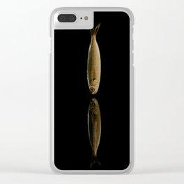 sardine fish Clear iPhone Case