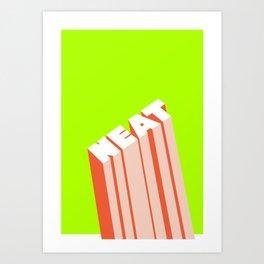 NEAT Art Print
