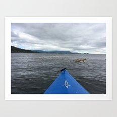 FRONT ROW SEAT - SITKA, ALASKA Art Print