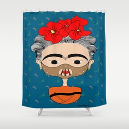 Hannibal Kahlo Shower Curtain