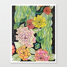 Fish Tropic Canvas Print