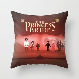 Is this a kissing book? Throw Pillow