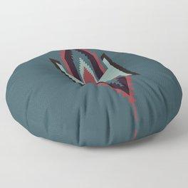 Southwestern Santa Fe Tribal Pattern Floor Pillow
