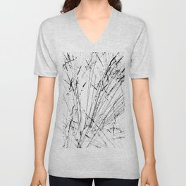 Winter Grasses Unisex V-Neck