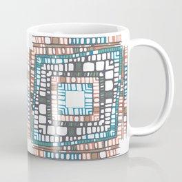 Squared layers No.2 Coffee Mug