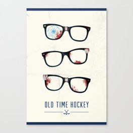 Slapshot - Old Time Hockey Canvas Print