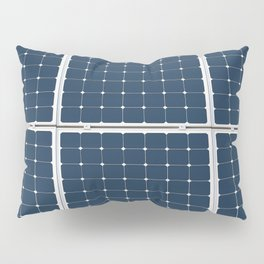 Solar Cell Panel Pillow Sham