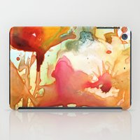 poppies iPad Cases featuring Poppies by Yevgenia Watts