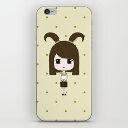 Capricorn Girl iPhone Skin