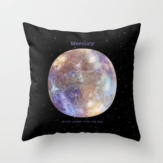 Mercury Throw Pillow