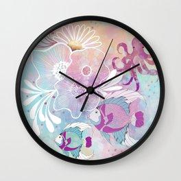 Fantasy Ocean Scene Wall Clock