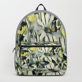 Spring Delight - Flowers And Butterflies Backpack
