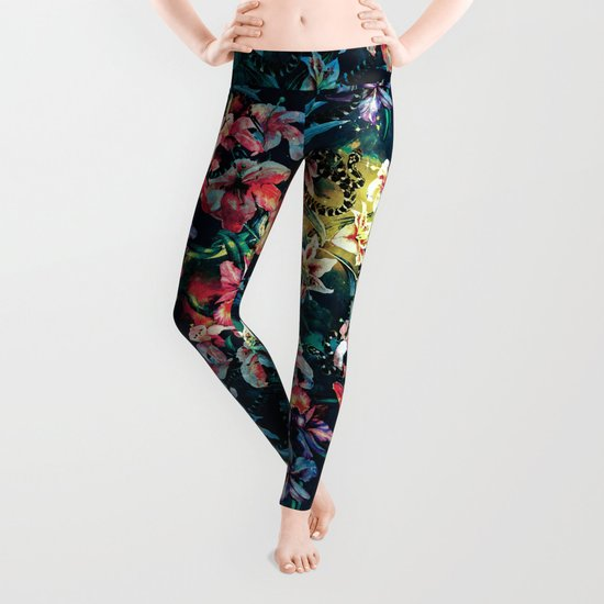 The night of the Snakes Leggings