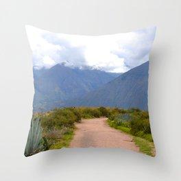 Le chemin Throw Pillow
