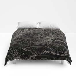 Venezuela Antique Map Comforters