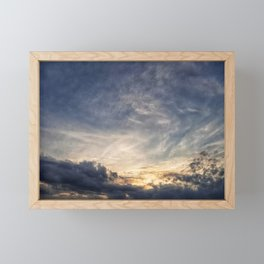 A View to the Sky Framed Mini Art Print