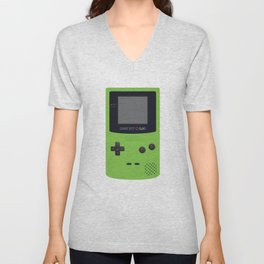 GAMEBOY Color - Green Unisex V-Neck