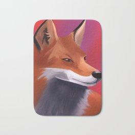 Fox Painting Bath Mat