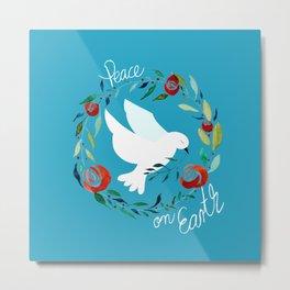 White dove of peace Metal Print