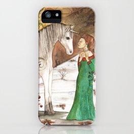 Yule Blessings iPhone Case