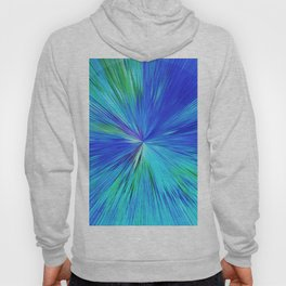 347 - Abstract colour design Hoody