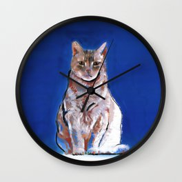 Moco Moco Mocha, the cat Wall Clock
