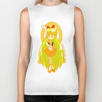 sailor venus Biker Tanks featuring Sailor Venus by Glopesfirestar