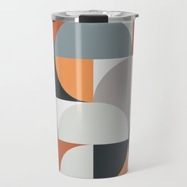 Mid Century Geometric 11 Travel Mug