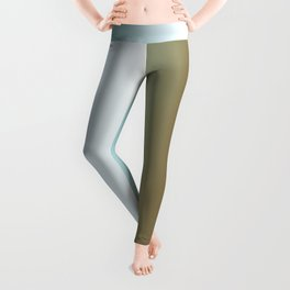 Ombre Feathers 1 Reversed Leggings