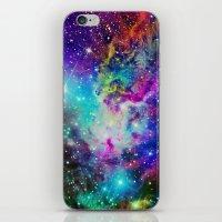 nebula iPhone & iPod Skins featuring Fox Nebula by Starstuff