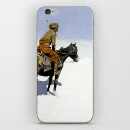 """Frederic Remington Western Art """"The Scout"""" iPhone Skin"""