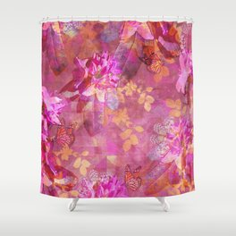 LET YOUR DREAMS BLOSSOM Shower Curtain