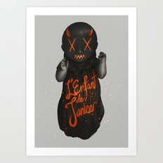 L'Enfant de Janice Art Print