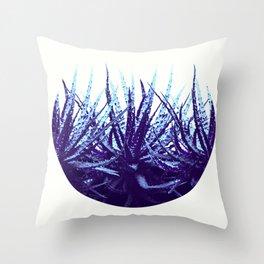 Succulent bowl Throw Pillow