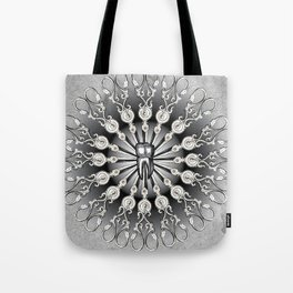 Finch Moon Tote Bag