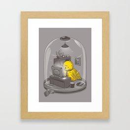 Get a job Framed Art Print