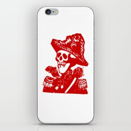Skeleton General iPhone Skin