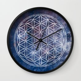 Sacred Geometry Universe 5 Wall Clock
