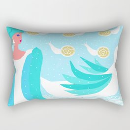 ARIADNE IN NAXOS Rectangular Pillow